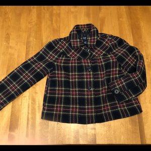 Gap Kids Wool Blend Pea Coat size 14/16